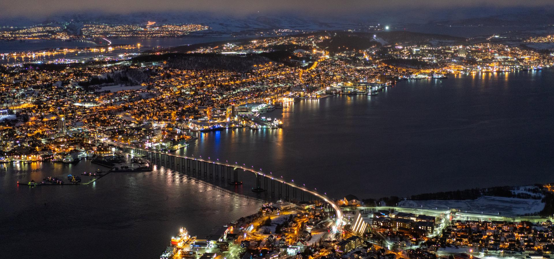 Tromsø Norway by nightWhy is Tromsø called Paris of the north?