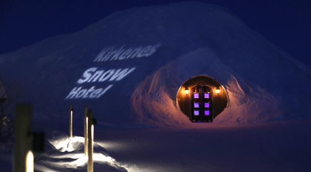 Snowhotel Icehotel Entrance